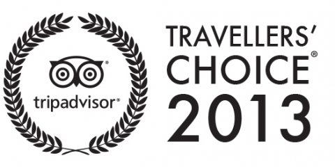 Travelers' Choice 2013 Winner