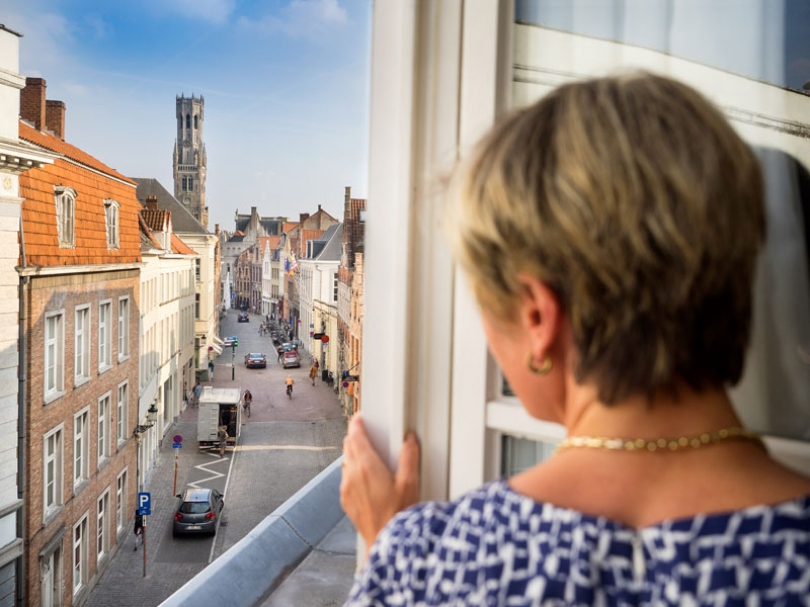 You will love the unique, central location of Hotel Navarra in the heart of Bruges