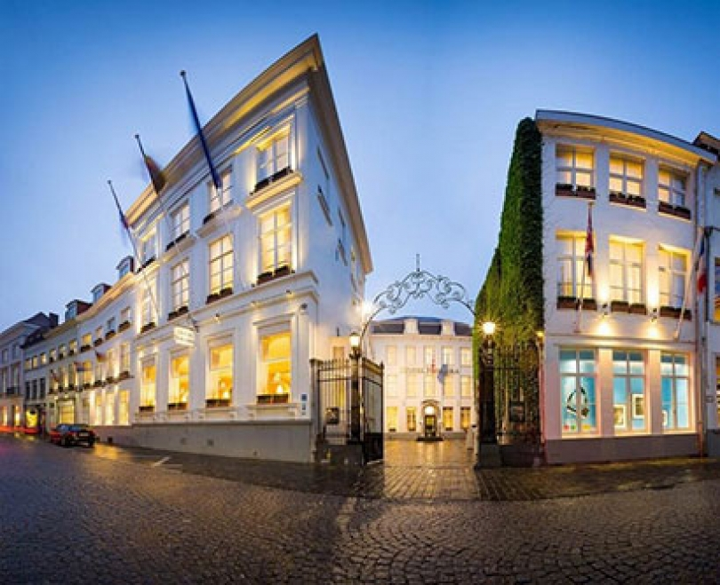 Stay at one of Bruges� most beautiful hotels: Hotel Navarra.