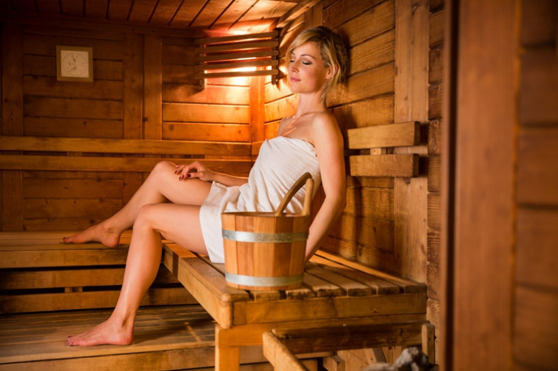 Our sauna is one of the most popular wellness facilities.