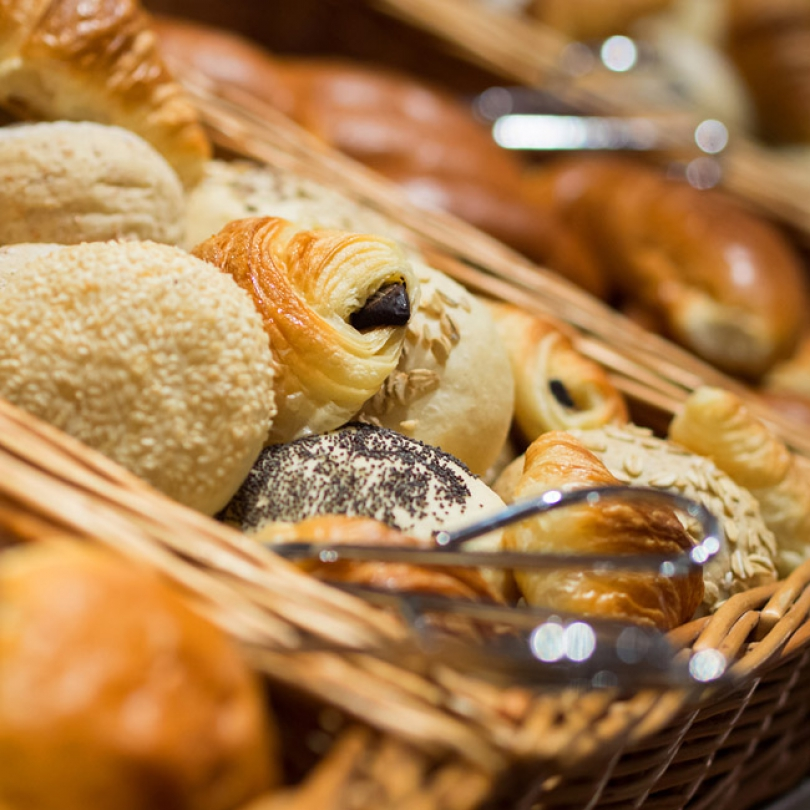 We offer our guests a wide range of breads.