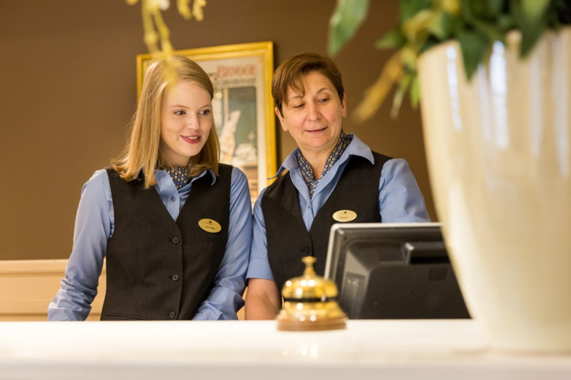 A personal hotel service is an absolute priority to Hotel Navarra Bruges.